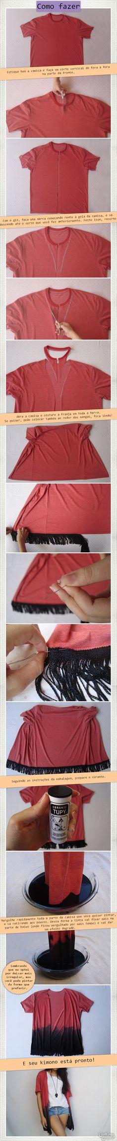 DIY Kimono   DIY Fas