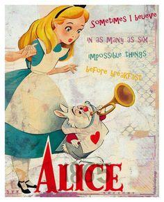 *ALICE & THE WHITE R