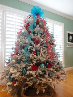 1000 Images About Red And Aqua Christmas On Pinterest