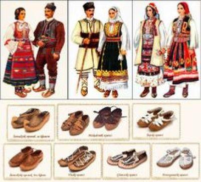 Именице које означавају одећу као део народне ношње
