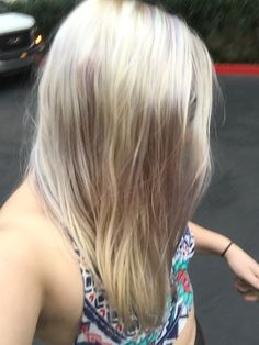 Blonde Brilliance Lilac Toner My Crazy Hair Pinterest