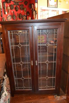 1000 Images About Leaded Glass Cabinet Doors On Pinterest