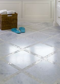 Mosaic Tile Floor, T