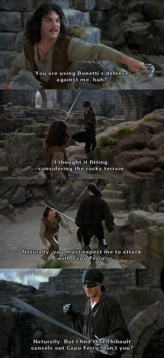 Laugh Of The Day You Mean You Wish To Surrender To Me From The Movie The Princess Bride