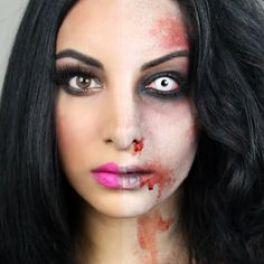 Afbeeldingsresultaat voor half barbie half zombie