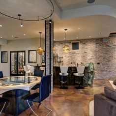 1000 Images About Modern Basement On Pinterest