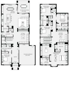 Home Floor Plans Floor Plans And Melbourne On Pinterest