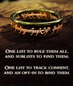 One List to Rule the