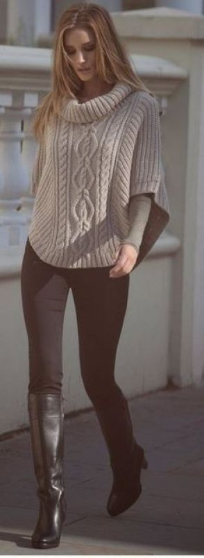 Classic. CAbi's Ponte Leggings, and more than a one of our Fall 2013 sweaters rock this autumn vibe!!