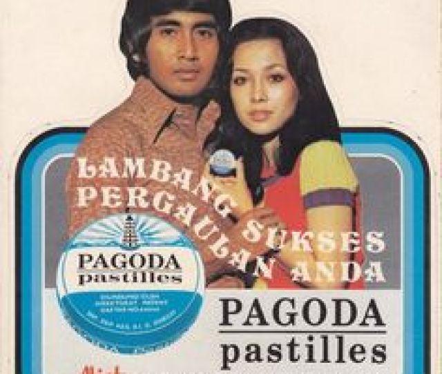 Clingakclinguk Stiker Iklan Pagoda Pastilles Dengan Bintang Iklan Widyawati Dan Sophan Sophiaan Sumber