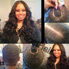 diy braid and sewin flawless hair sew in braid patterns pinterest diy braids