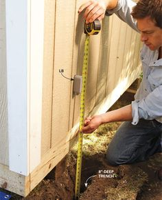 How to Wire a Shed for Electricity