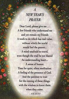 prayer new year greetings