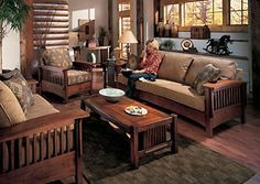 1000 Images About Mission Style Living Room On Pinterest
