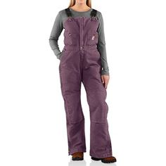 carhartt sandstone bib overalls insulated for women on womens insulated bib overalls id=73393