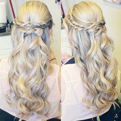 Waterfall Braid Wavycurly Hair B E A U T Y