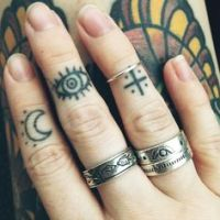 Resultado de imagen para little tattoo eye