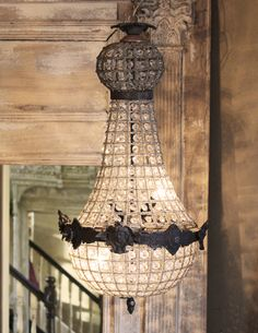 French Empire Chandy Love If Only My Ceiling Was High Enough Or Family Shorter Bqa Home All Kinds Of Stuff Pinterest