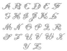 Fancy Cursive Letters Image 10