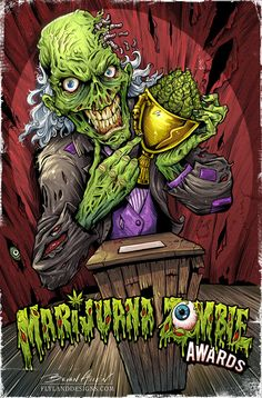 Marijuana ZombieClear your mind with Maritox