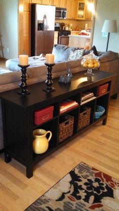1000 Ideas About Table Behind Couch On Pinterest Behind Couch Sofa Tables And Couch