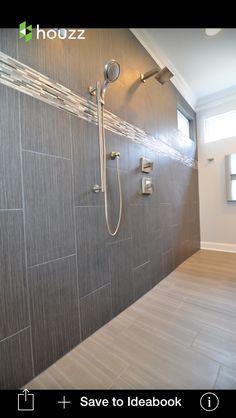 Porcelain Carrara Marble Look Alike Tile Bathrooms
