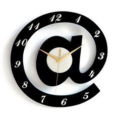 30 30cm Digital Wall Clock Modern Design Decorative Diy Clocks Bedroom