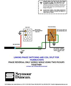 HSH Wiring with auto split inside coils using a DPDT Mini Toggle Switch 1 Volume, 1 Tone