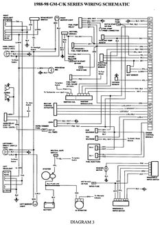 wiring diagram for 1998 chevy silverado  Google Search