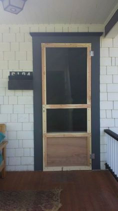1000 Images About Diy Screen Doors On Pinterest Screen Doors Screen Door Hinges And Wooden