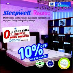 Super Exchange Offer Total S Brings You 10 Off On Sleepwell