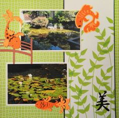 japanese garden designs and layouts Scrapbook Page - Japanese Gardens in Portland - 2 page