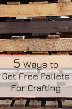 different types of pallets for building pallet furniture on top new diy garage storage and organization ideas minimal budget garage make over id=55551