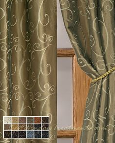 Sage Mint Amp Grades Of Green Curtains On Pinterest Unique Window Treatments Curtains And