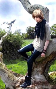Blue Top For Spring Femboy Outfit Love Those Skinny Jeans