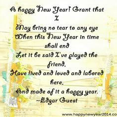 thought happy new year