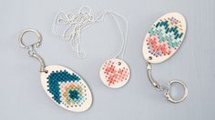 DIY : Embroidered ke
