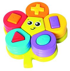 Playgro Shape Sorting Flower Puzzle