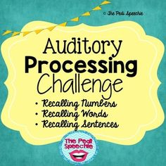 Images About Auditory Processing Disorder
