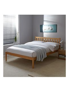 Kerby Bed Frame With Optional Mattress Very Co Uk