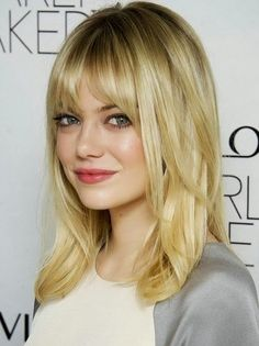 Medium Hairstyles For Fine Hair Round Face