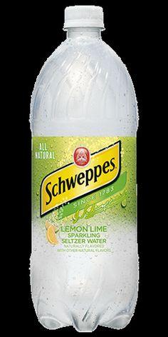 Best Lemon Lime Sparkling Seltzer Recipe on Pinterest