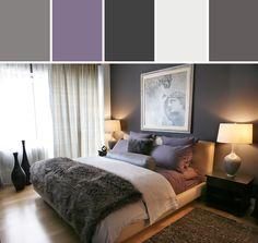 Master Bedroom Sneak Peek Black Frosted Plum Walls