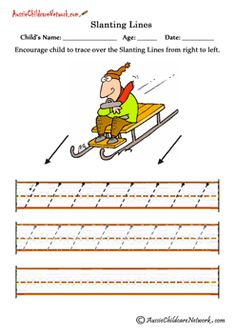 Sleeping Lines Worksheets