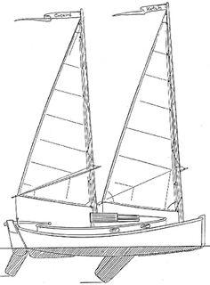Windward 15 DaysailerBeach Cruiser Boat Plans Boat