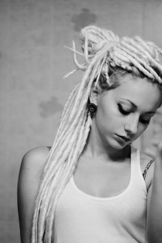 1000 ideas about white girl dreads on pinterest dreadlocks pretty dreads and half dreads