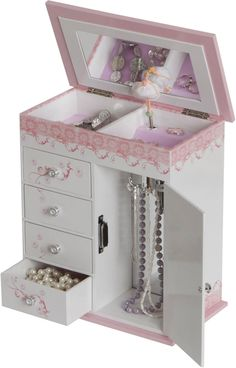 1000 Images About Jewelry Boxes For Little Girls On