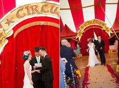 Circus Wedding Vintage Circus And Carousels On Pinterest