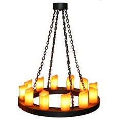 Candle Chandelier Use Real Or Flameless Candles