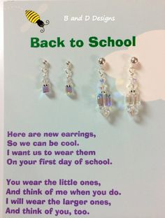 Personalized First Day of School Mother/Daughter bracelets ...